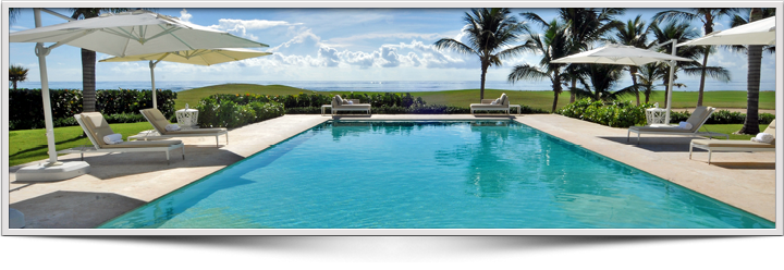Luxury Villa, pool, see view Punta Cana